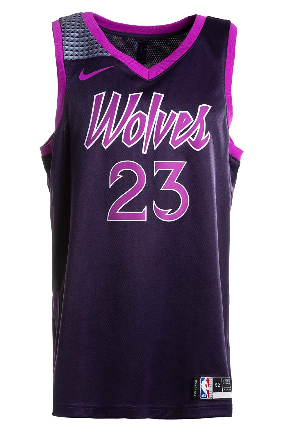 huge discount 13063 5360c Amazon.com: Nike Jimmy Butler Minnesota Timberwolves City ...