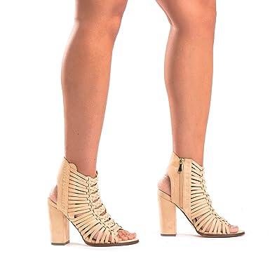 d48747a864a4 MIA Strappy Block Heel