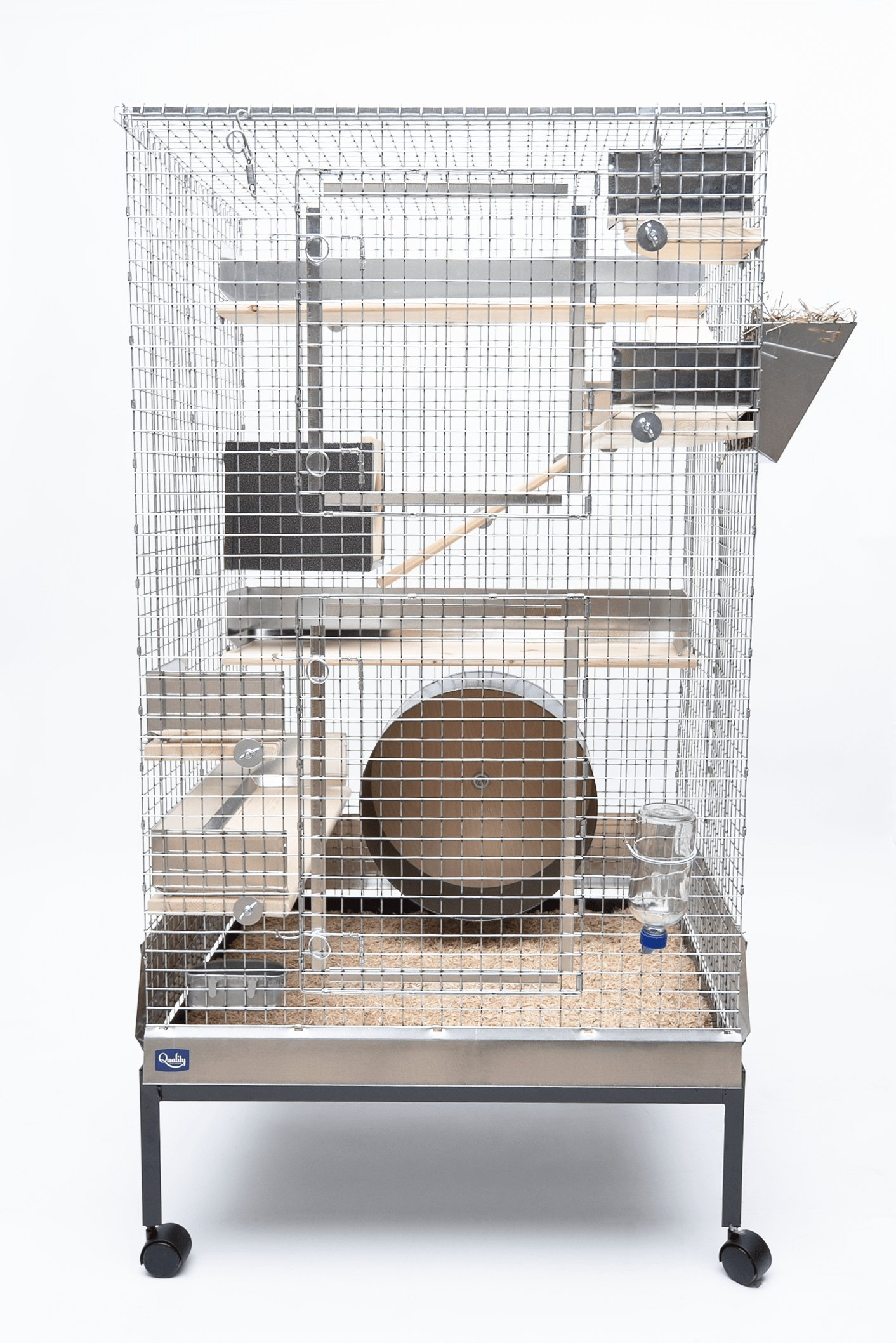 Quality Cage Crafters Chinchilla Mansion Chinchilla Cage Kit - Deluxe Package