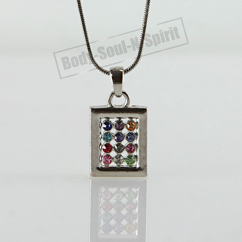 """Hoshen Shield"" Necklace Jewish Israel Judaica Amulet Pendant Kabbalah Jewelry"