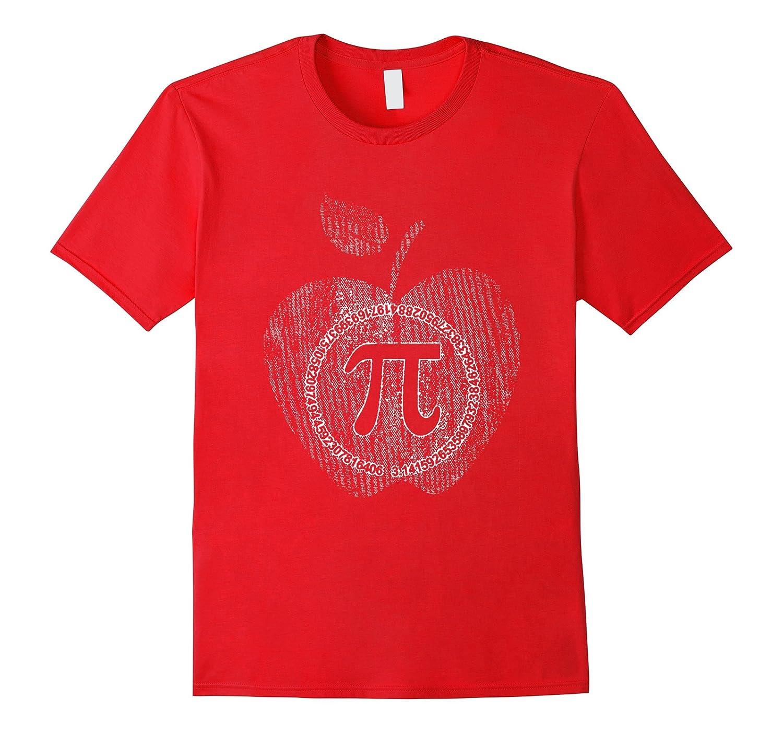 Apple Pi - Math Shirt pi day 2017 t shirts-TD