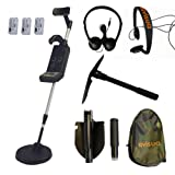 Visua Professional Discriminating Metal Detector (Detector Kit: H/Phones Batts & Pick)