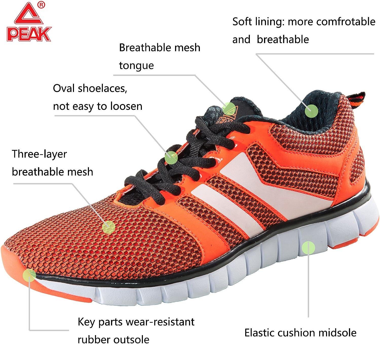 PEAK Mens Womens Running Shoes
