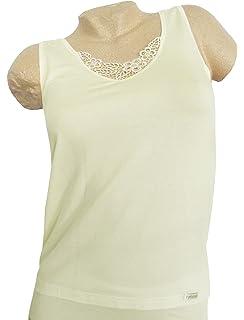 THIEME Damen Bio-Baumwoll-Achselhemd extra lang 4710