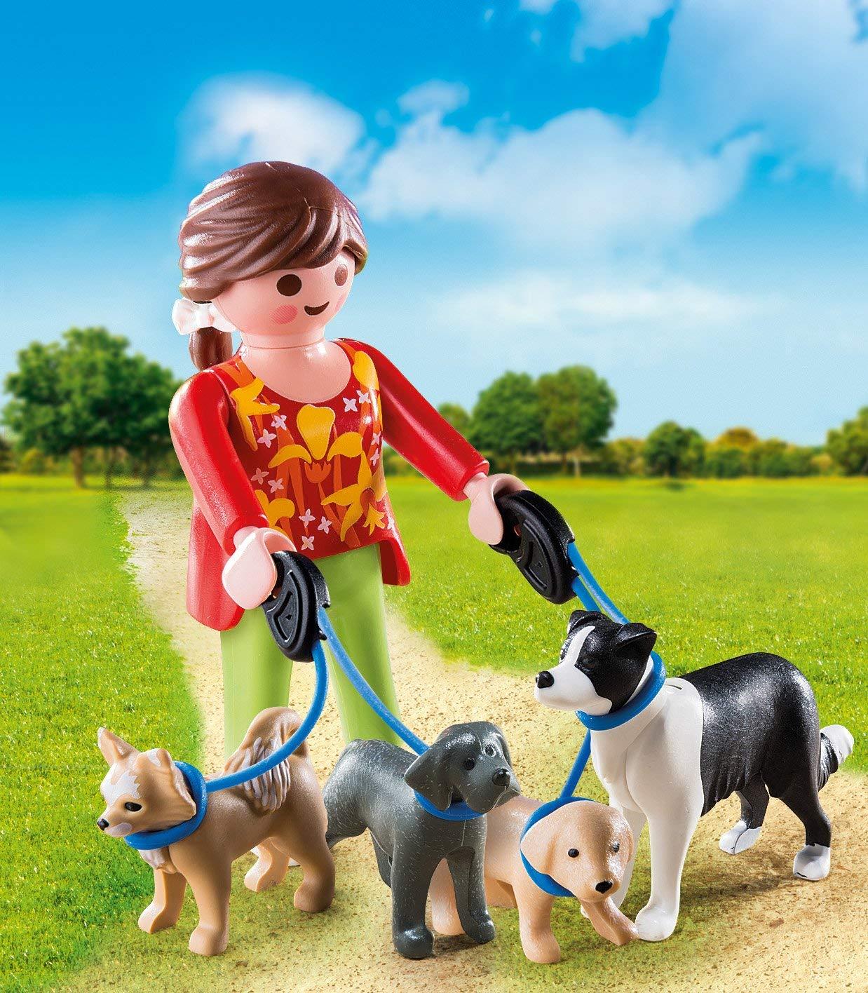 Amazon.com: Playmobil - Andador para perros (renovado): Toys ...