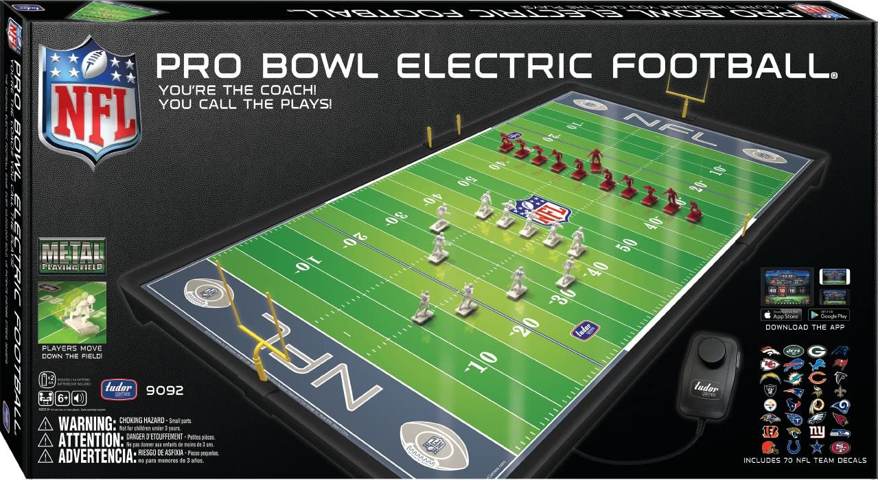 NFL Pro Bowl Electric Football from Tudor Games