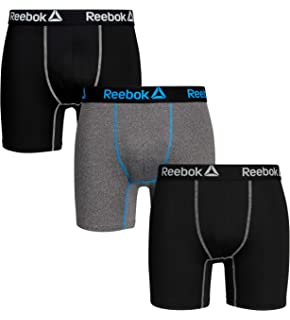 7f599366d64 Reebok Mens 3 Pack Performance Boxer Briefs at Amazon Men's Clothing ...