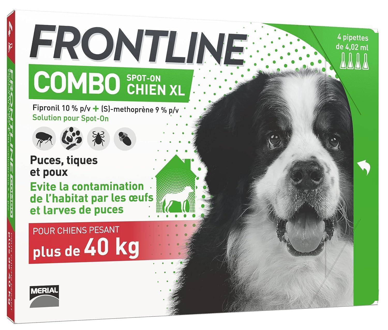 FRONTLINE Combo Chien - Anti-puces et anti-tiques pour chien - 10-20kg - 6 pipettes MERIAL 6778605