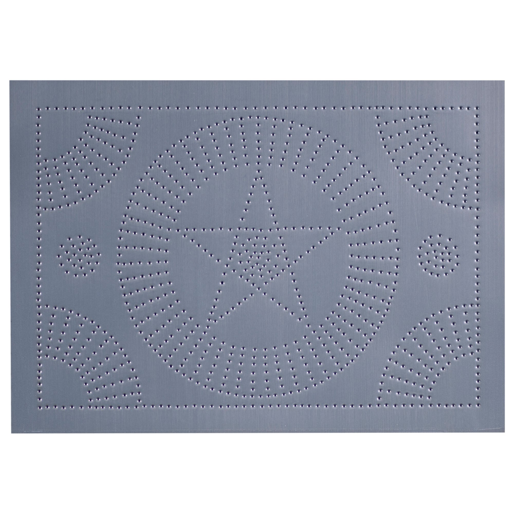 New Panel Star Circle in Country Tin