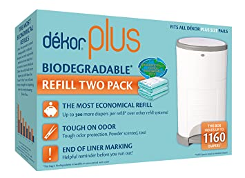 Amazon.com: Recambio biodegradable Dekor Plus, Biodegradable ...