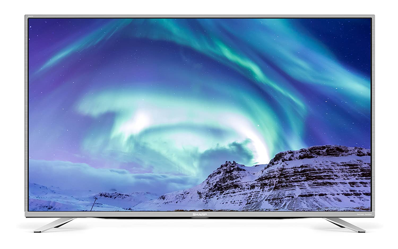 Sharp Flachbild-TVs 49 4K Ultra HD Smart TV Wi-Fi Argento