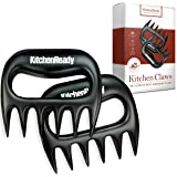 Meat Shredder Claws by KitchenReady. Barbecue Grilling Accessories. Pulled Pork, Beef Brisket, Chicken, Turkey
