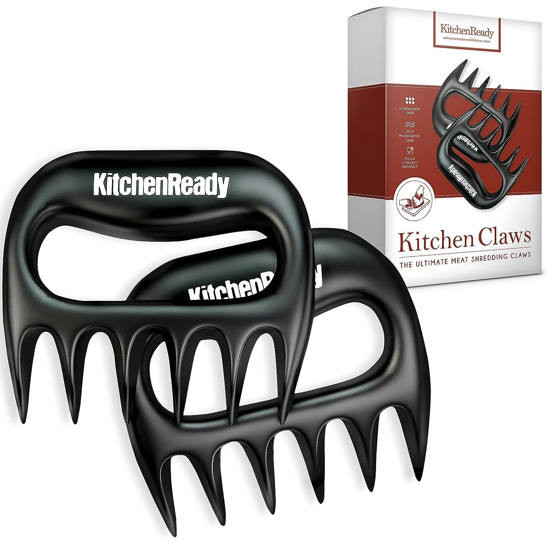 KitchenReady Meat Claws Perfect Shredder for Pulled Pork, Beef Brisket, Chicken, Turkey