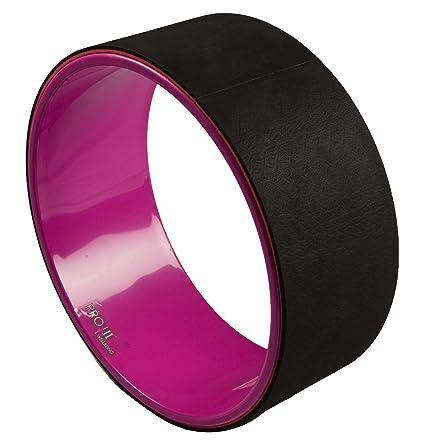 Amazon.com : WellBeing Pro Yoga Wheel Black : Sports & Outdoors