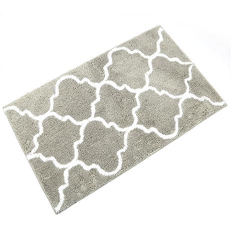 Kitchen Mat, Uu0027Artlines Decorative Non Slip Microfiber Doormat Bathroom Mats  Shower Rugs