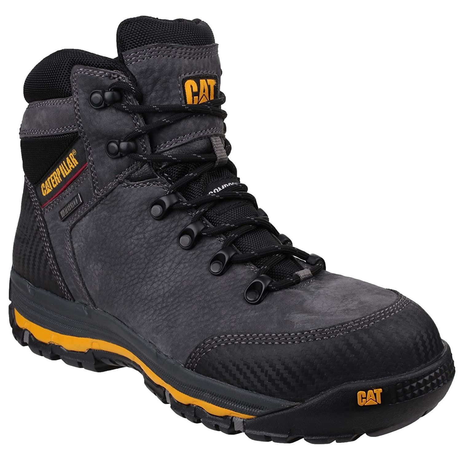 Clothing, Shoes & Accessories Business & Industrial Caterpillar Cat Munising S3 Src Mens Steel Toe Cap Waterproof Safety Boots Ppe