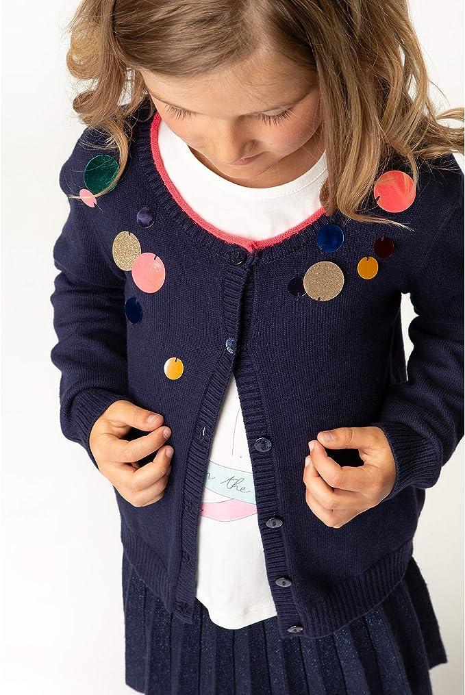 Billieblush Cardigan en Tricot /à Sequins Enfant