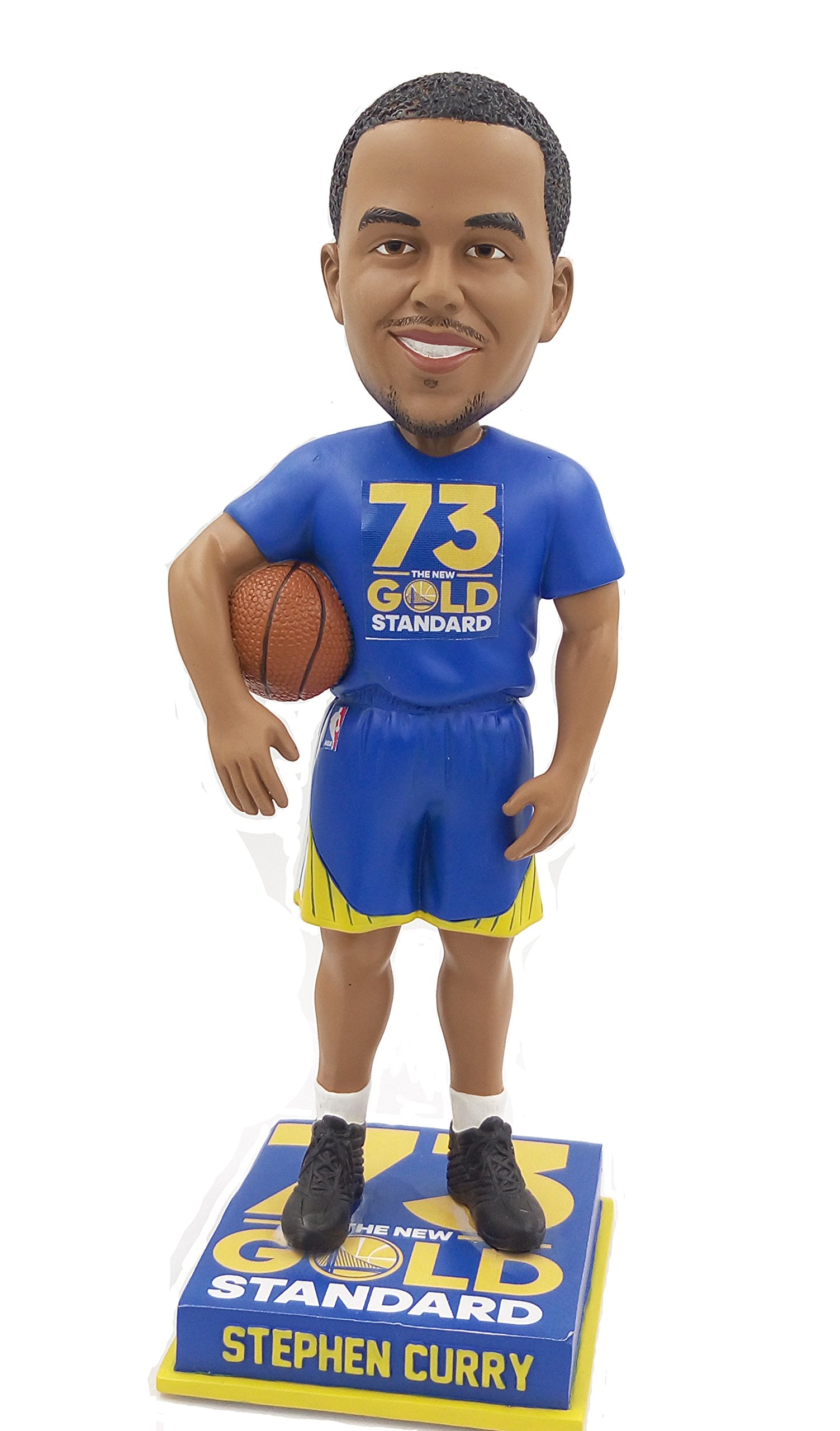 FOCO NBA Golden State Warriors73 Wins Curry S. #30 Bobble, Golden State Warriors, One Size