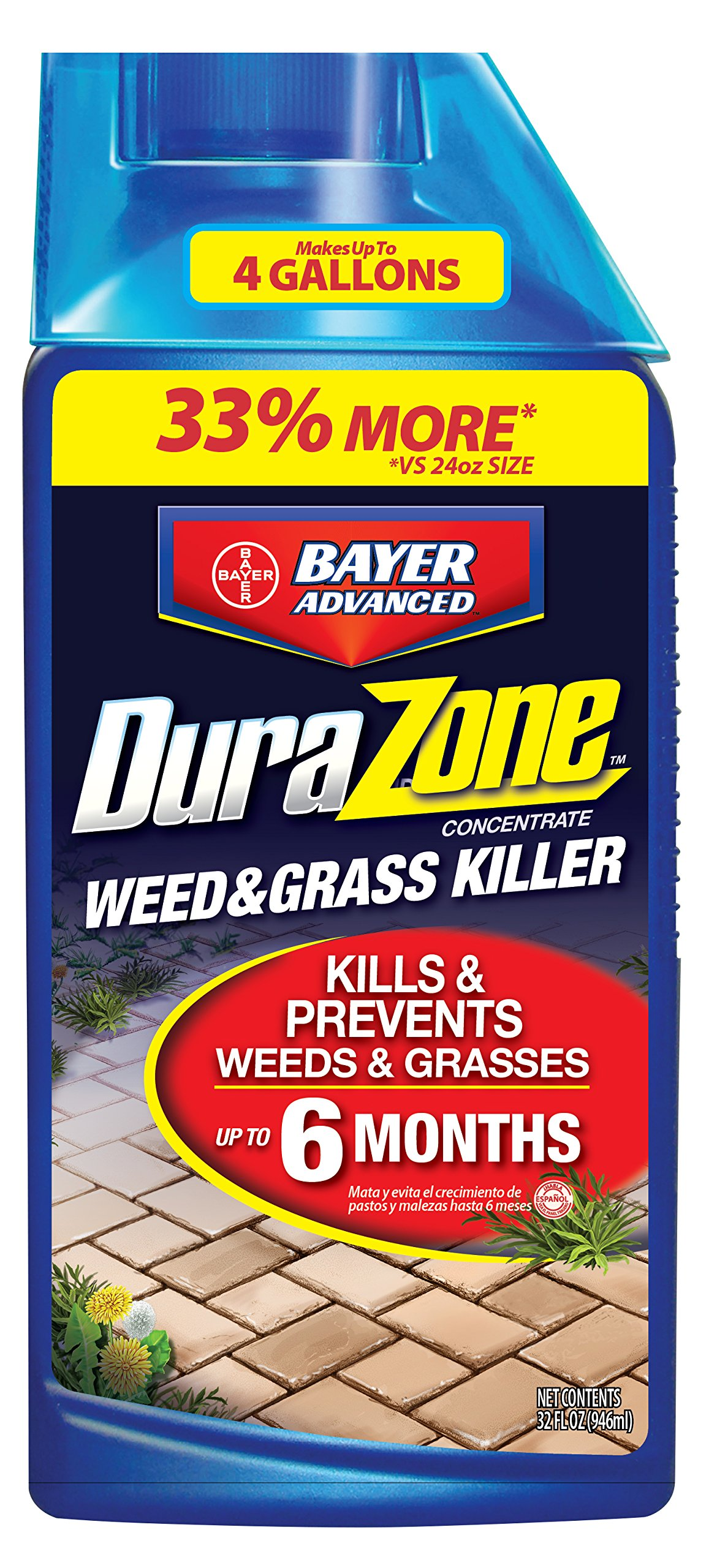 DuraZone Weed & Grass Killer Concentrate, 32-Ounce by Bayer Advanced DuraZone