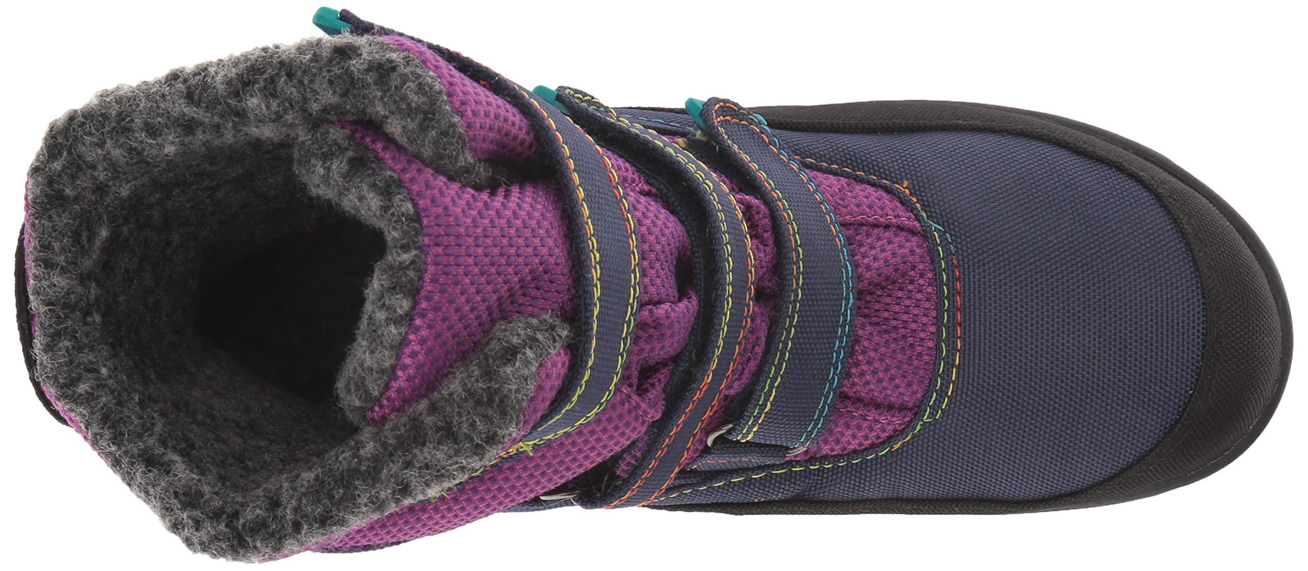 Kamik Girls' Hayden Snow Boot, Grape, 4 Medium US Big Kid by Kamik (Image #7)