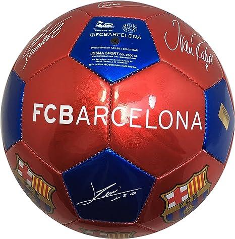 Balón Pelota de fútbol FCB Barcelona con Firmas Jugadores 2016 ...