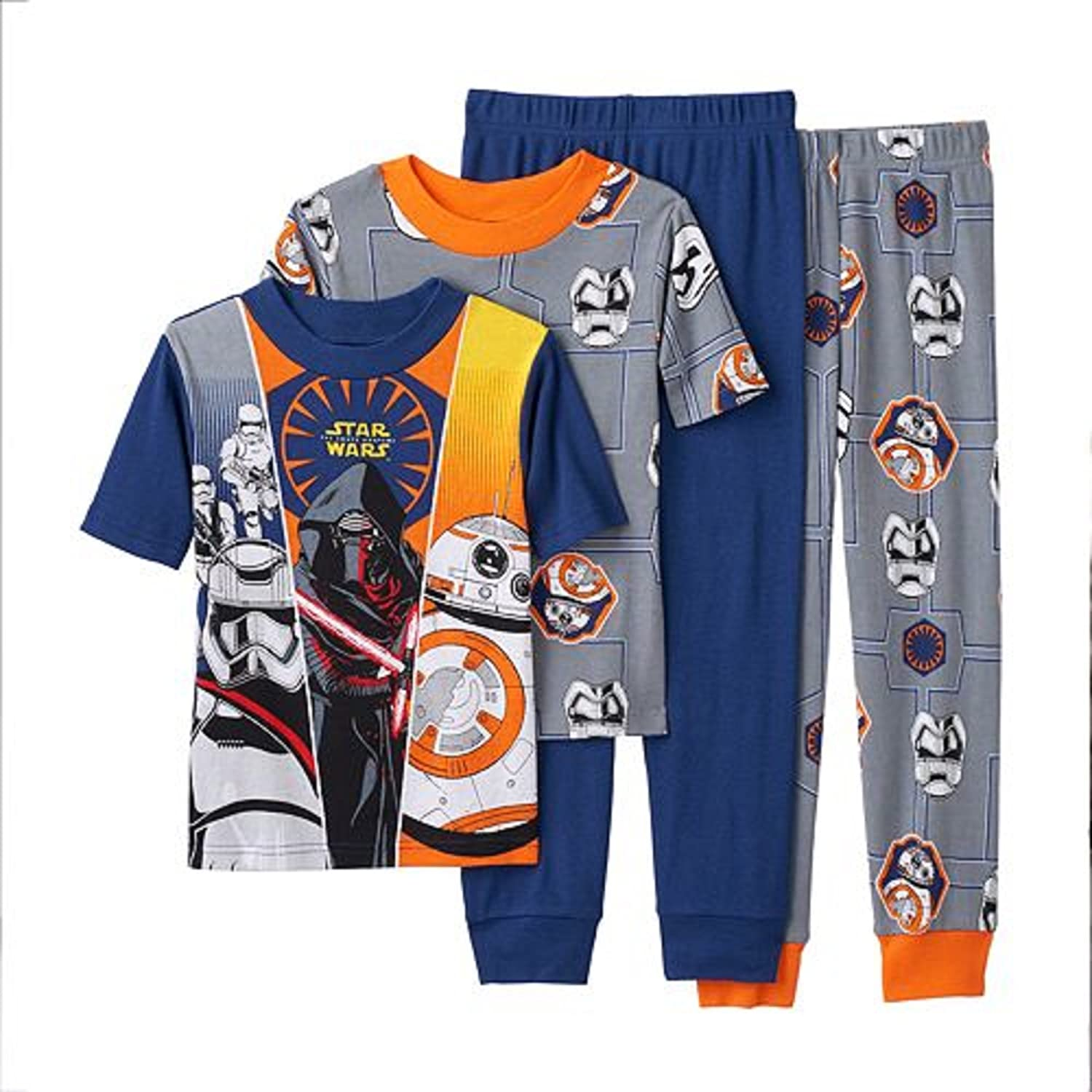cheap Star Wars Episode VII The Force Awakens 4-Piece Pajama Set Boys (6) save more