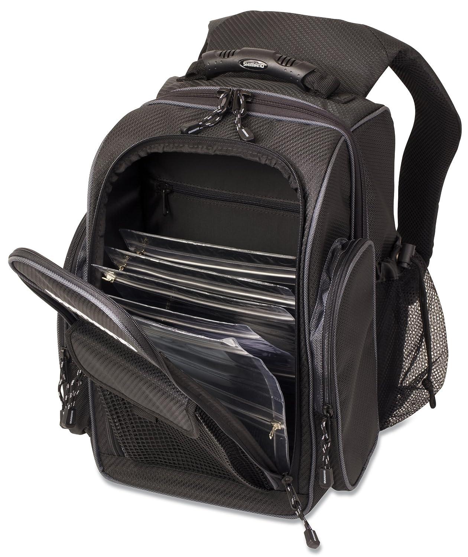 Shimano Blackmoon Fishing Backpack Black Compact BLMBP260BK: Amazon.es: Deportes y aire libre