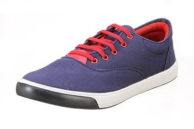 Blue Casual Canvas Shoes - 5 UK