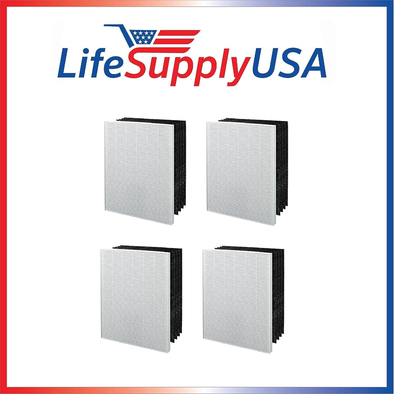 LifeSupplyUSA 4 Unidades con Filtro de Repuesto para aspiradora ...
