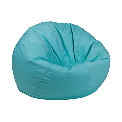 Flash Furniture Small Solid Mint Green Kids Bean Bag Chair