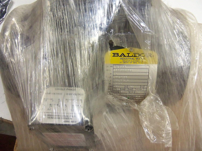 1 hp baldor capacitor wiring baldor electric  vl3509  motor  1 hp  3450 rpm  115 230v  56c  vl3509  motor  1 hp  3450 rpm