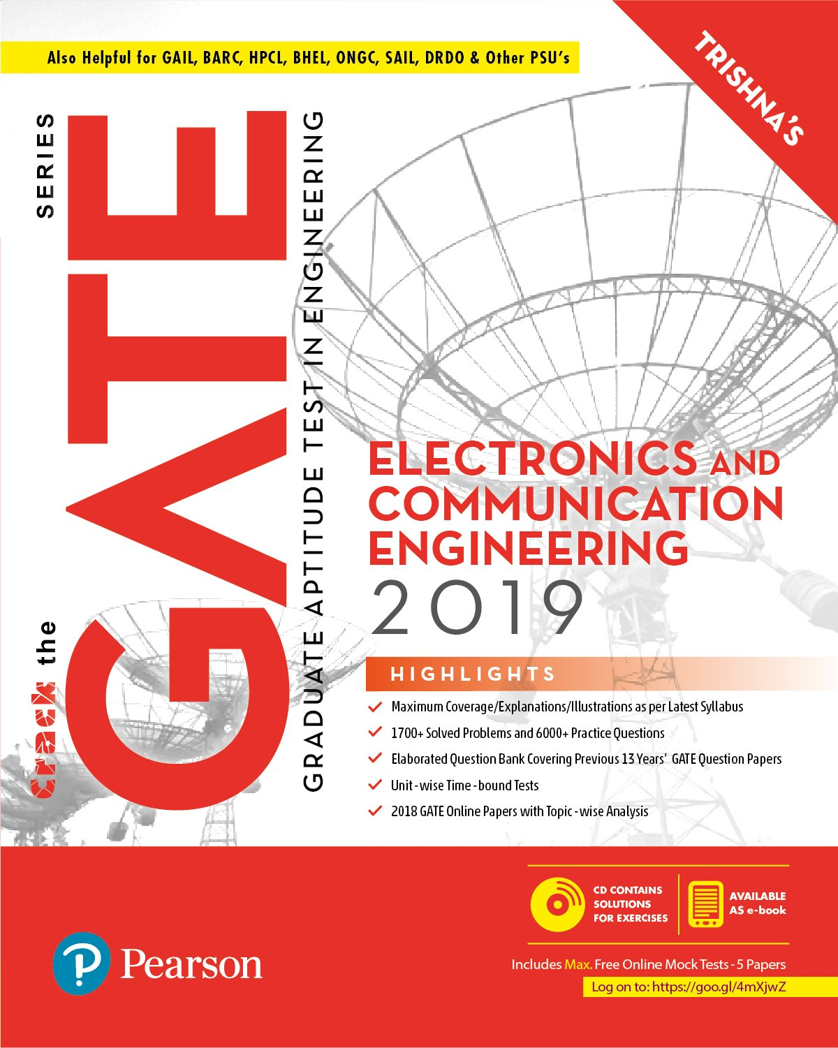 Buy GATE Electronics and Communication Engineering 2019 Book