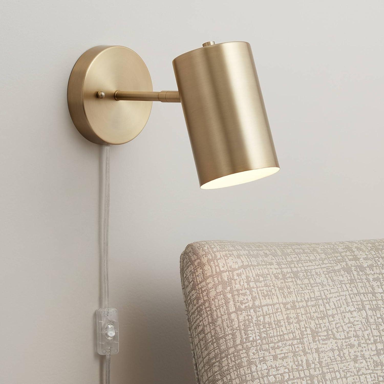 B0000TVGC2 Carla Polished Brass Down-Light Pin-Up Wall Lamp - 360 Lighting 812yseKd8XL