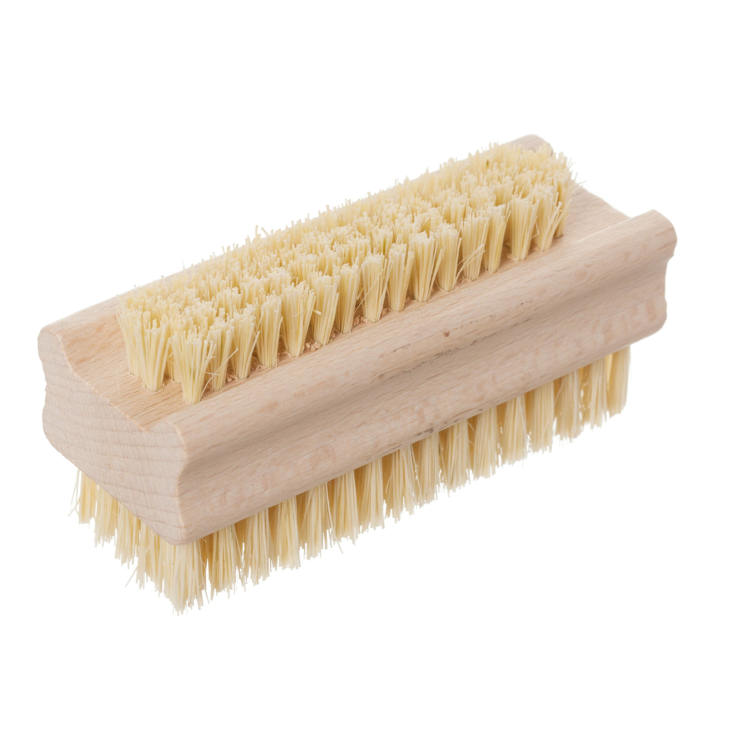 Redecker Tampico Fiber and Beechwood Nailbrush, 3-5/8'' by REDECKER
