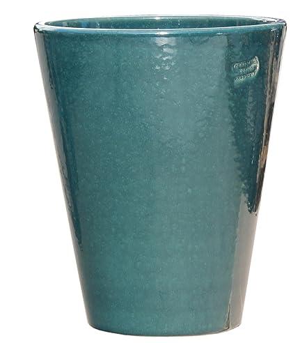 Pflanztopf Pflanzkübel frostsicher rund Ø 20 x 25 cm, Farbe effekt ...