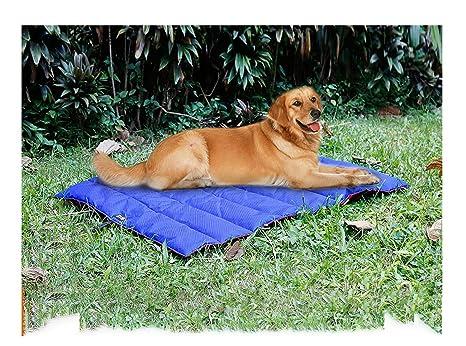 Potable al aire libre Manta impermeable para mascotas Alfombra plegable para mascotas Al aire libre suave