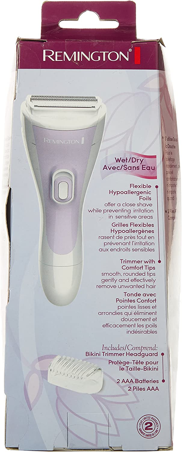 Remington WDF-4815 Smooth & Silky Ladies Cordless Shaver by ...
