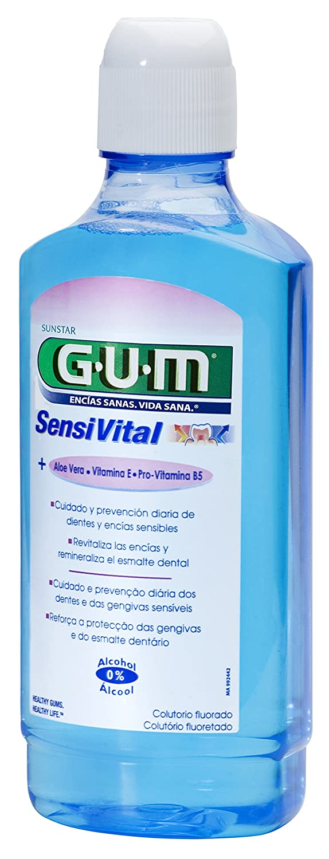 Gum Sensivital Collutorio300ml free shipping