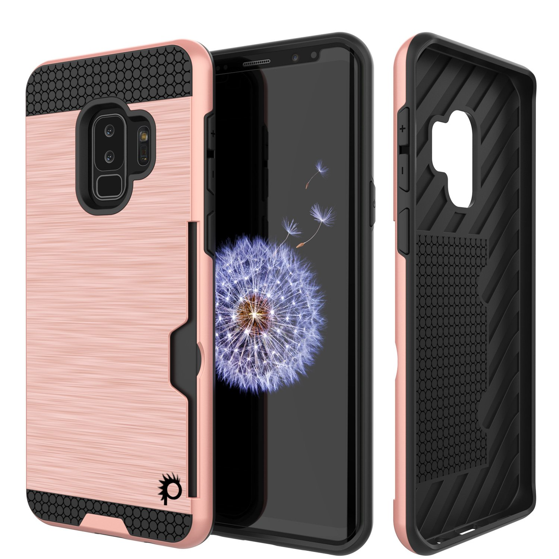 hot sale online 28928 956ef Galaxy S9 Plus Case, PUNKcase [SLOT Series] [Slim Fit] Dual-Layer ...