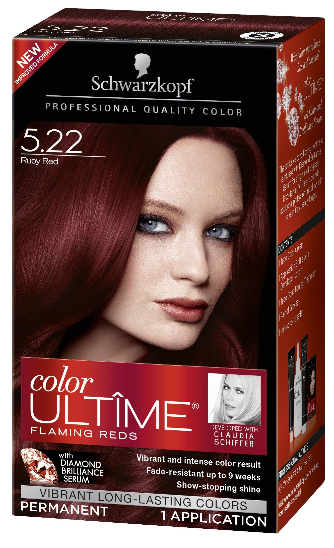 Amazon schwarzkopf keratin color anti age hair color cream schwarzkopf color ultime hair color cream 522 ruby red packaging may vary nvjuhfo Choice Image