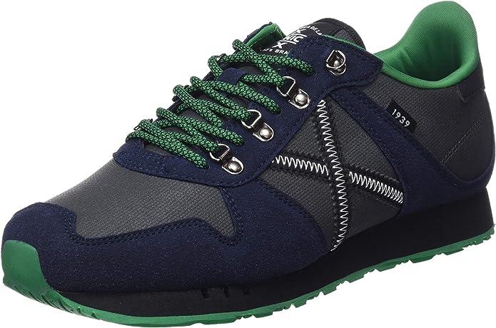 Munich Massana, Zapatillas Unisex Adulto, Azul (Azul/Negro 282), 45 EU: Amazon.es: Zapatos y complementos