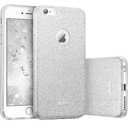 99 opinioni per ESR iPhone 6 Plus/6s Plus Cover con Brillantini/Glitters, Custodia Brillante