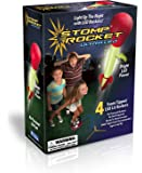 The Original Stomp Rocket: Ultra LED 4-Rocket