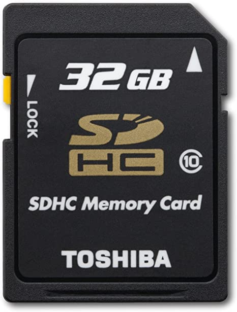 SDHC 2 Pack Memory Cards Toshiba Camileo H30 Camcorder Memory Card 2 x 32GB Secure Digital High Capacity