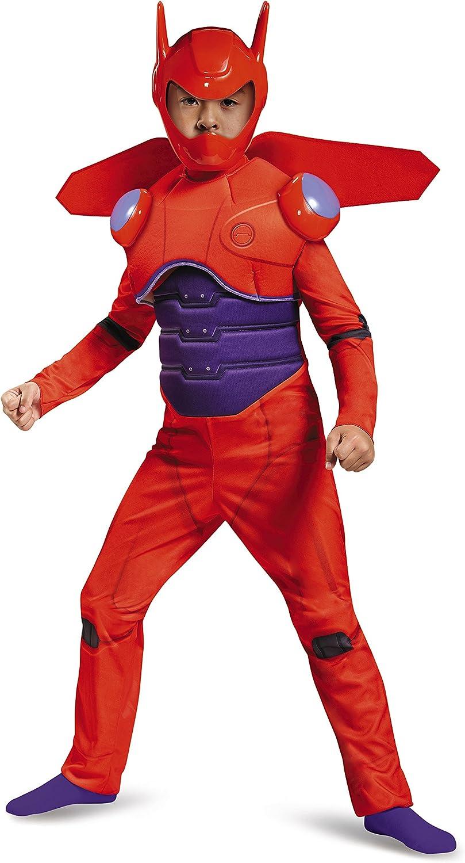 Amazon Com Disney Red Baymax Big Hero 6 Deluxe Boys Costume Toys Games