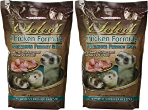 Marshall Pet Products (2 Pack) Select Chicken Formula Premium Ferret Diet