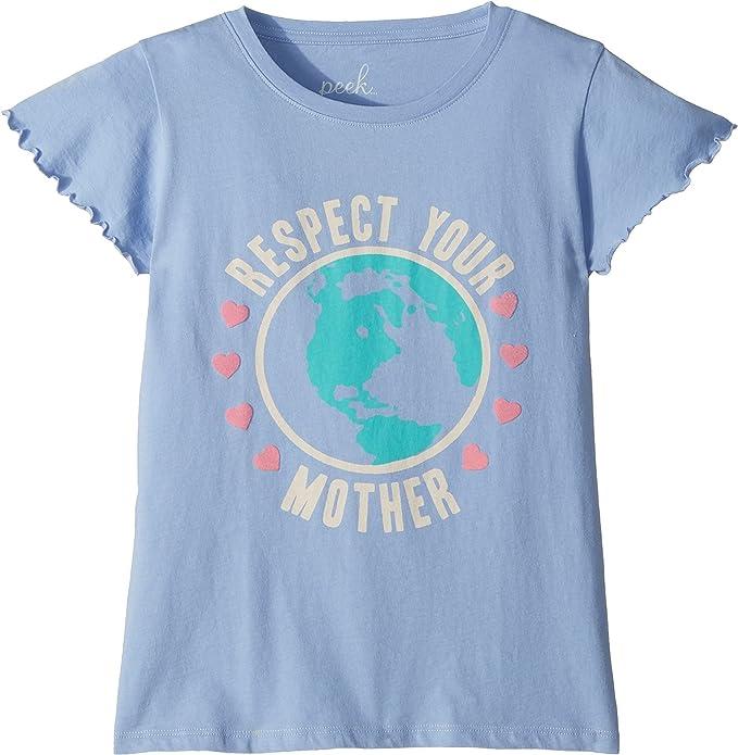 f34efeba0 Peek… Baby Girl's Respect Your Mother Tee (Toddler/Little Kids/Big Kids