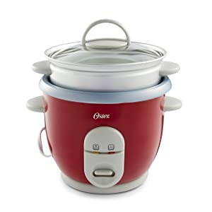 Oster 6-Cup Rice Cooker with Steamer<br />