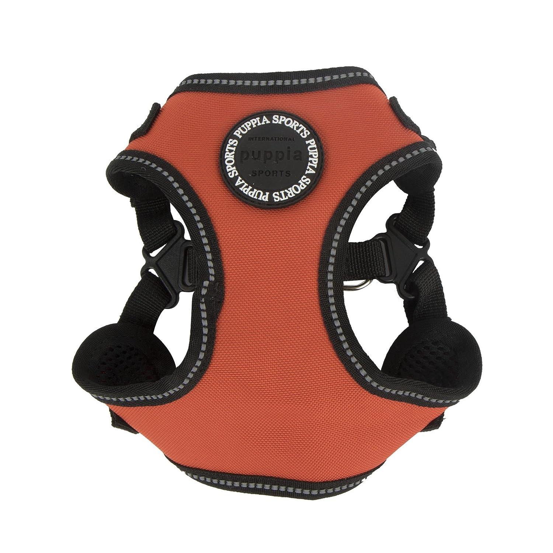 Puppia PLRA-HC9323-OR-L orange Trek Harness C Pet-Vest-Harnesses, Large