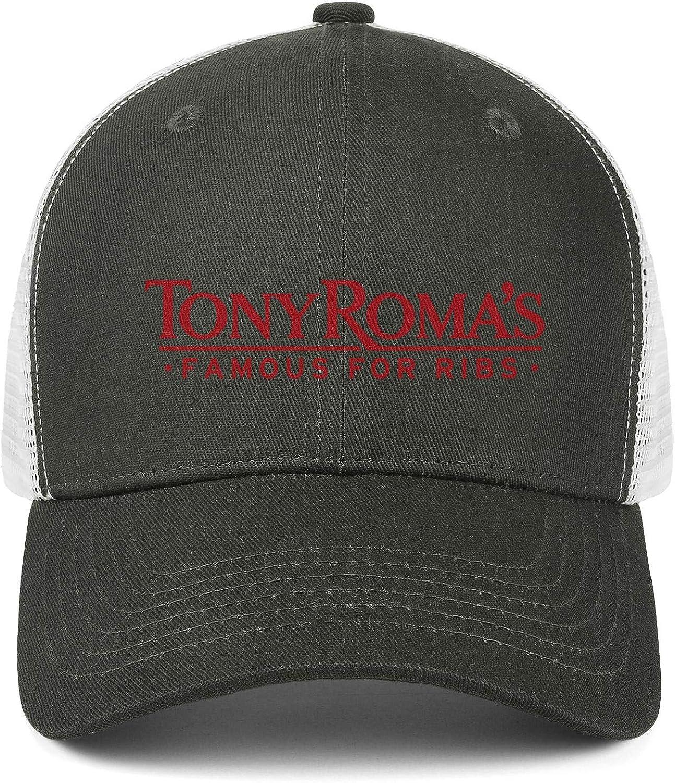 ChenBG Unisex Tony Romas Adjustble Baseball Cap Gas Cap All Cotton Cowboy Hat